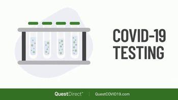 Quest Direct TV Spot, 'COVID-19 Test Options'