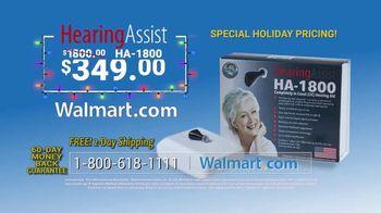 Hearing Assist HA-1800 TV Spot, 'Happy Holidays' - Thumbnail 10