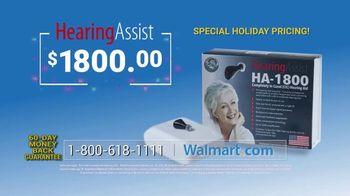 Hearing Assist HA-1800 TV Spot, 'Happy Holidays' - Thumbnail 9