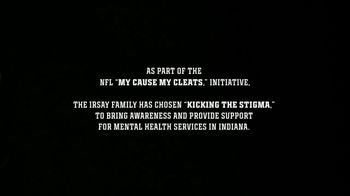 National Alliance on Mental Illness TV Spot, 'My Cause, My Cleats: Irsay Family' Song by R.E.M. - Thumbnail 1
