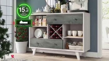 Overstock.com Green Monday Flash Sale TV Spot, 'Stunning Dining Room Pieces' - Thumbnail 4