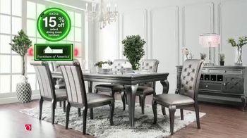 Overstock.com Green Monday Flash Sale TV Spot, 'Stunning Dining Room Pieces' - Thumbnail 5