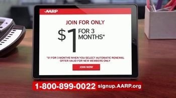 AARP Services, Inc. TV Spot, 'Join Today: $1 for Three Months' - Thumbnail 2