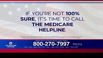 The Medicare Helpline TV Spot, 'Annual Enrollment Period is Open: Eligible for $144 Every Month'
