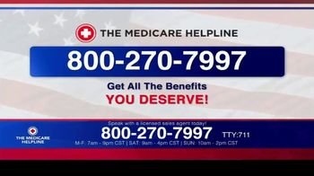 The Medicare Helpline TV Spot, 'Annual Enrollment Period is Open: Eligible for $144 Every Month' - Thumbnail 10