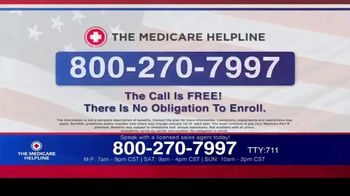 The Medicare Helpline TV Spot, 'Annual Enrollment Period is Open: Eligible for $144 Every Month' - Thumbnail 5