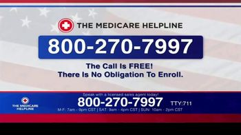 The Medicare Helpline TV Spot, 'Annual Enrollment Period is Open: Eligible for $144 Every Month' - Thumbnail 6