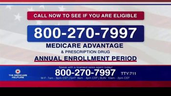 The Medicare Helpline TV Spot, 'Annual Enrollment Period is Open: Eligible for $144 Every Month' - Thumbnail 7
