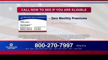 The Medicare Helpline TV Spot, 'Annual Enrollment Period is Open: Eligible for $144 Every Month' - Thumbnail 8