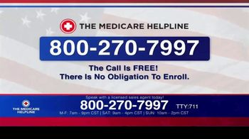 The Medicare Helpline TV Spot, 'Annual Enrollment Period is Open: Eligible for $144 Every Month' - Thumbnail 9