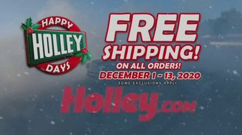 Happy Holley Days TV Spot, 'Free Shipping on All Orders'