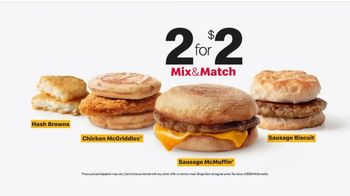 McDonald's 2 for $2 Mix & Match TV Spot, 'Breakfast Stampede' - Thumbnail 6