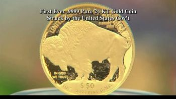 National Collector's Mint 2021 Gold Buffalo Tribute Proof TV Spot, 'Look Closely' - Thumbnail 2