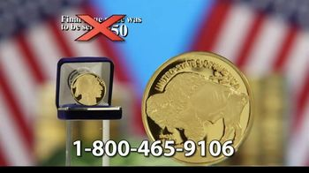 National Collector's Mint 2021 Gold Buffalo Tribute Proof TV Spot, 'Look Closely' - Thumbnail 6