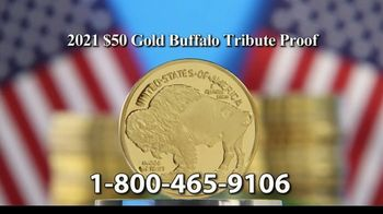 National Collector's Mint 2021 Gold Buffalo Tribute Proof TV Spot, 'Look Closely' - Thumbnail 8