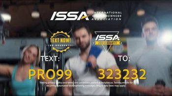 International Sports Science Association TV Spot, 'Get Paid to Work Out' - Thumbnail 9
