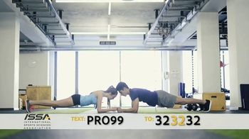 International Sports Science Association (ISSA) TV Spot, 'Get Paid to Work Out' - Thumbnail 4