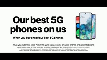 Verizon TV Spot, 'Holidays: 5G America's Been Waiting For: Get $500 and PlayStation Plus' - Thumbnail 3