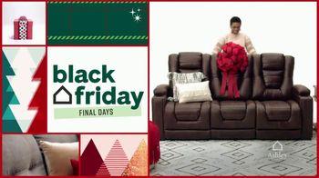 Ashley HomeStore Black Friday Sale TV Spot, 'Final Days: Power Reclining Sofa' - Thumbnail 2