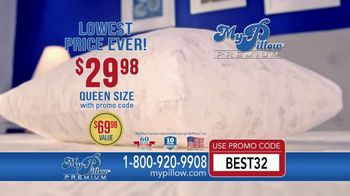 My Pillow Premium TV Spot, 'Lowest Price Ever: $29.98' - Thumbnail 2
