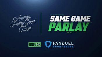 FanDuel Sportsbook TV Spot, 'Another Pretty Good Tweet: $25' - Thumbnail 2