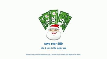 Meijer TV Spot, 'Everything You Need: Santa Bucks' - Thumbnail 8