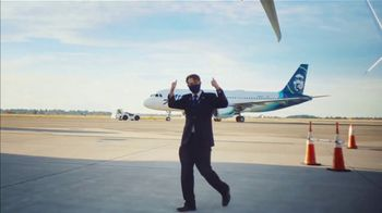 Alaska Airlines TV Spot, 'Book Now. Mask up. Let's Go.' Featuring Russell Wilson - Thumbnail 8