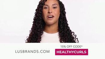 LUS Brands TV Spot, 'Love Ur Curls: 15% Off First Purchase' - Thumbnail 8