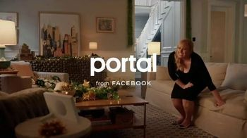 Portal from Facebook TV Spot, 'Portal Holiday: Glamming With Rebel Wilson: No Offer' - Thumbnail 1