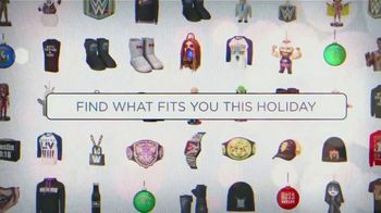 WWE Shop TV Spot, 'Holiday Browsing: Save Up to 50% Off' - 5 commercial airings