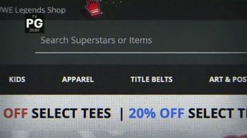 WWE Shop TV Spot, 'Holiday Browsing: Save Up to 50% Off' - Thumbnail 1