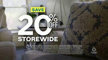 Ashley HomeStore Weekend Sale TV Spot, '20% Off Storewide: Shop Safe' - Thumbnail 5