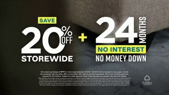 Ashley HomeStore Weekend Sale TV Spot, '20% Off Storewide: Shop Safe' - Thumbnail 6