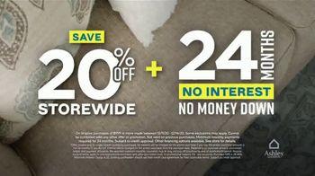 Ashley HomeStore Weekend Sale TV Spot, '20% Off Storewide: Shop Safe' - Thumbnail 7