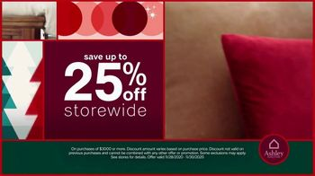 Ashley HomeStore Black Friday Weekend Sale TV Spot, 'Continued: 25% Off or Special Financing' - Thumbnail 3