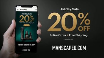 Manscaped Holiday Sale TV Spot, 'Impress Someone: 20% Off' - Thumbnail 8