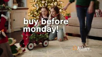 Ashley HomeStore TV Spot, 'Holidays: Limited Time: 40%: Monday' - Thumbnail 2