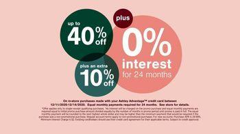 Ashley HomeStore TV Spot, 'Holidays: Limited Time: 40%: Monday' - Thumbnail 4