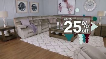 Ashley HomeStore Happy Holidays Sale TV Spot, 'Up to 25% Off or Special Financing' - Thumbnail 3