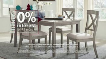 Ashley HomeStore Happy Holidays Sale TV Spot, 'Up to 25% Off or Special Financing' - Thumbnail 4