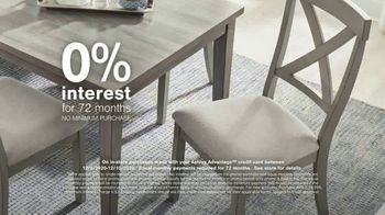 Ashley HomeStore Happy Holidays Sale TV Spot, 'Up to 25% Off or Special Financing' - Thumbnail 5