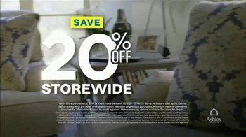 Ashley HomeStore Weekend Sale TV Spot, '20% Off Storewide: Power Reclining Sofa' - Thumbnail 2