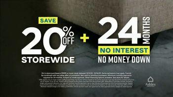 Ashley HomeStore Weekend Sale TV Spot, '20% Off Storewide: Power Reclining Sofa' - Thumbnail 3