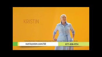 Nutrisystem Personal Plans TV Spot, 'Big News: 50% Off A Month of Meals and Shakes' Featuring Marie Osmond - Thumbnail 3