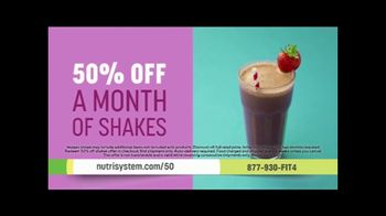 Nutrisystem Personal Plans TV Spot, 'Big News: 50% Off A Month of Meals and Shakes' Featuring Marie Osmond - Thumbnail 7