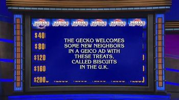 GEICO TV Spot, 'Jeopardy: Cookies' - Thumbnail 1