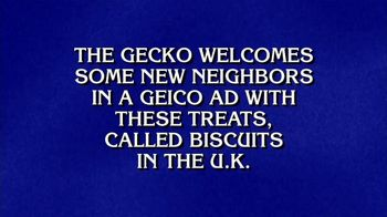 GEICO TV Spot, 'Jeopardy: Cookies' - Thumbnail 2