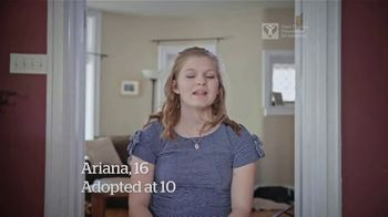 Dave Thomas Foundation TV Spot, 'Before I Was Adopted '