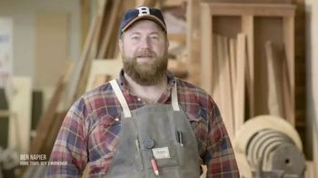 Discovery+ TV Spot, 'Home Town: Ben's Workshop' - Thumbnail 1