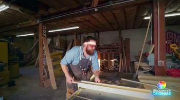 Discovery+ TV Spot, 'Home Town: Ben's Workshop' - Thumbnail 2